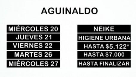 Municipales: Inicia el pago del aguinaldo