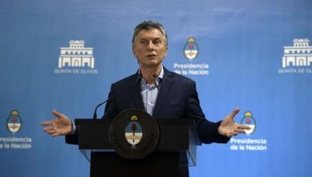 """Mauricio Macri: """"La inflación bajará más de 10 puntos el año que viene"""""""