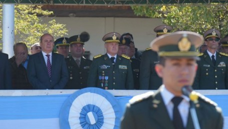 Gustavo Canteros participó de los actos por el 80 aniversario de Gendarmería Nacional