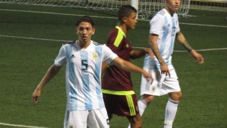 El Sub 20 argentino venció a la Selección de Murcia y lidera su grupo por el torneo de L'Alcúdia