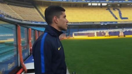 """Lucas Olaza es el nuevo refuerzo de Boca: """"La pegada es mi mayor cualidad"""""""