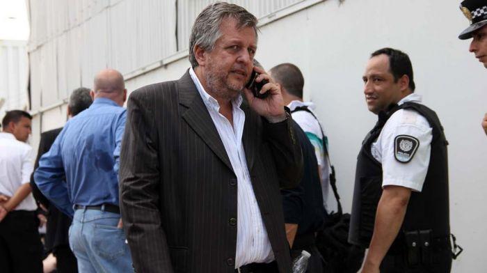 La Justicia realiza un procedimiento para buscar los cuadernos de Oscar Centeno