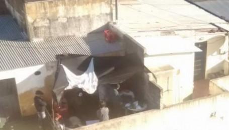 Fuerte operativo antidroga en un edificio céntrico