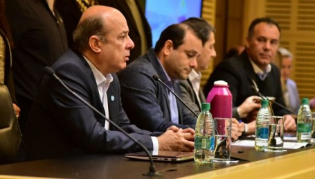 Canteros, Capitanich y Herrera Ahuad analizaron políticas de desarrollo y empleo en posadas