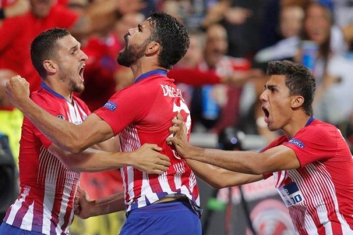 Atlético Madrid venció al Real en tiempo suplementario y es campeón de la Supercopa de Europa