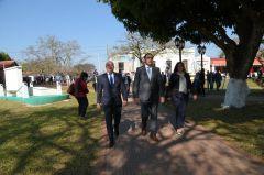 Gustavo Canteros recordó la entereza moral y el compromiso de San Martín