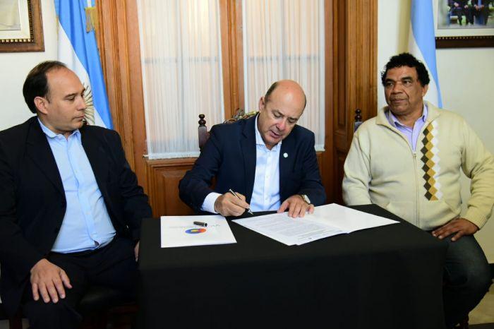 """Gustavo Canteros: """"Vamos a dinamizar el trabajo en Corrientes"""""""