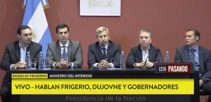 """Gustavo Valdéz: """"Reconocemos la crisis y la estamos afrontando entre todos"""""""