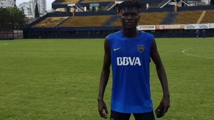 Tristeza en Boca: el camerunés Christian Mayo deberá dejar el fútbol