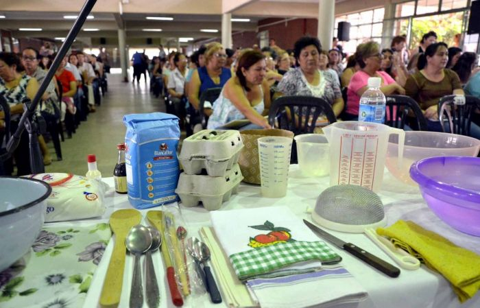 Vicegobernación promueve capacitación en oficios: comienza el taller de elaboración de pizzas y panes