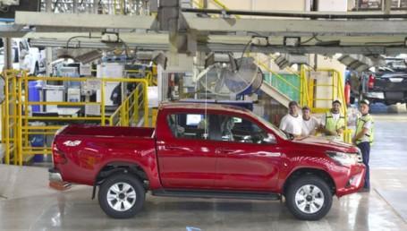 "Toyota: ""Nuestra planta trabaja a full"""