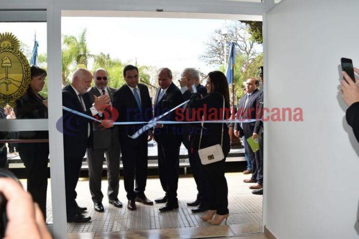 Valdés encabezó la inauguración del Juzgado Federal de Goya
