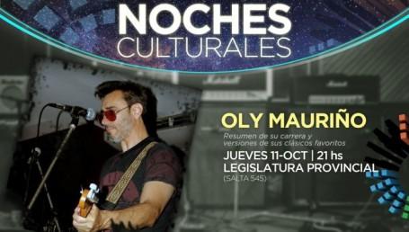 Recital de Oly Mauriño en la Legislatura Provincial