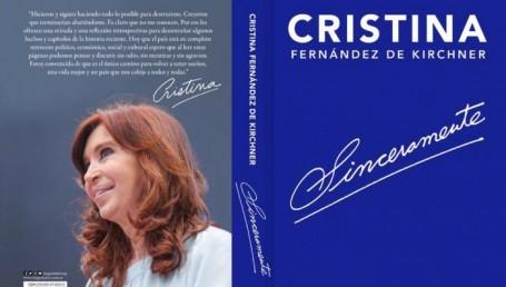 CFK lanza su libro a pocos días de ser enjuiciada