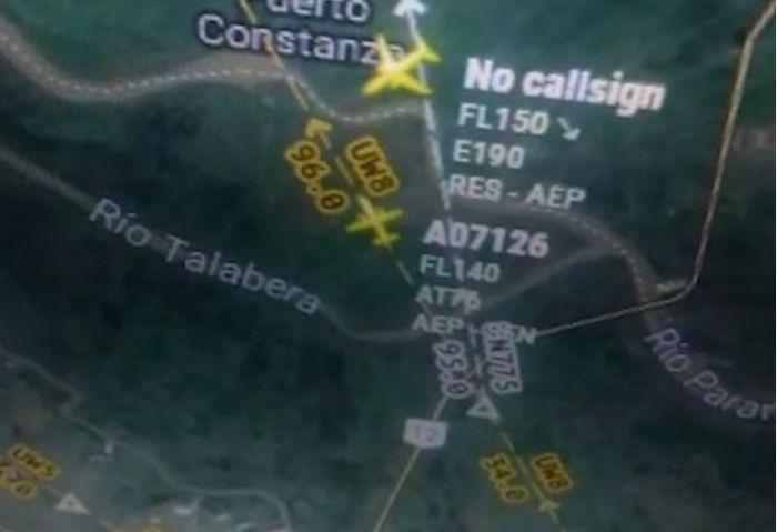 Insultos en el aire: 2 vuelos pasaron demasiado cerca