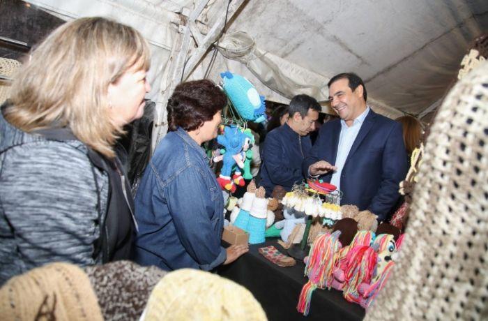 Arandú Po: Valdes ratificó su apoyo a emprendedores