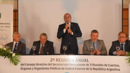 """Canteros: """"Los Tribunales de Cuentas dan tranquilidad"""""""