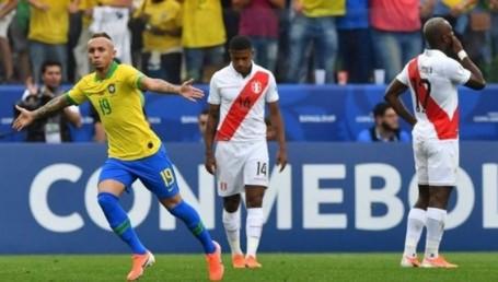 Brasil superó a Perú y se quedó con la Copa América