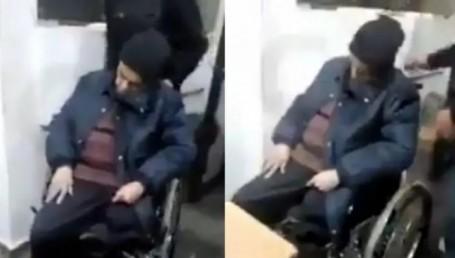 Murió en su silla de ruedas esperando ser atendido