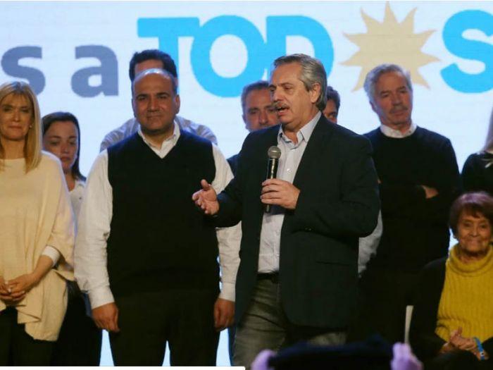 """""""El verdadero cambio éramos nosotros"""", dijo Alberto Fernández"""
