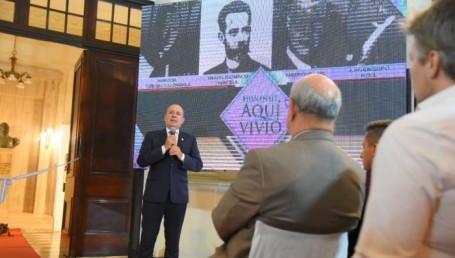 """""""Valoramos el legado de nuestros mejores hombres y mujeres"""", dijo Canteros"""