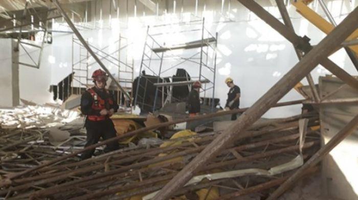 Se cayó un andamio en Ezeiza: un muerto y 13 heridos
