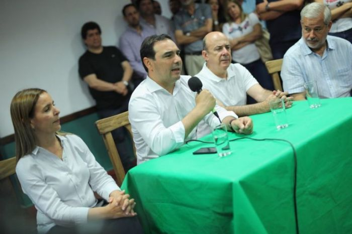 Valdés celebró el triunfo en capital y las bancas de ECO