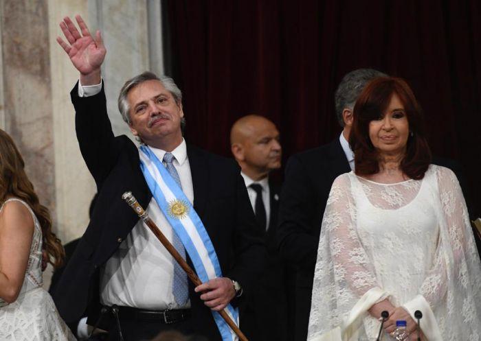 Con un firme llamado a la reconciliación asumió el presidente Alberto Fernández