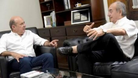 """Canteros recibió a Sotelo para fortalecer el diálogo y """"superar la grieta"""""""