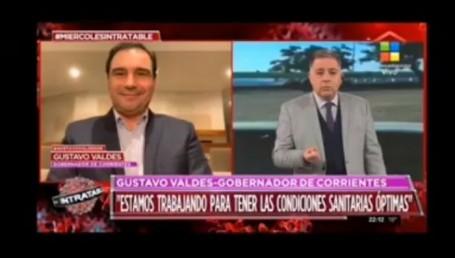 """Valdés y su ocurrente respuesta a Doman: """"Usted no tiene avión"""""""