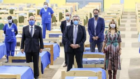 Alberto inauguró hospital en Formosa y elogió a Gildo
