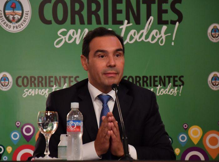 Valdés anunció que Corrientes y Paso de los Libres permanecen en Fase 3
