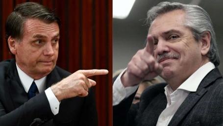 Jair Bolsonaro apoyó a Alberto Fernandez