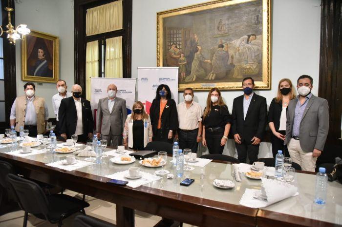 Reunión con Rotarios