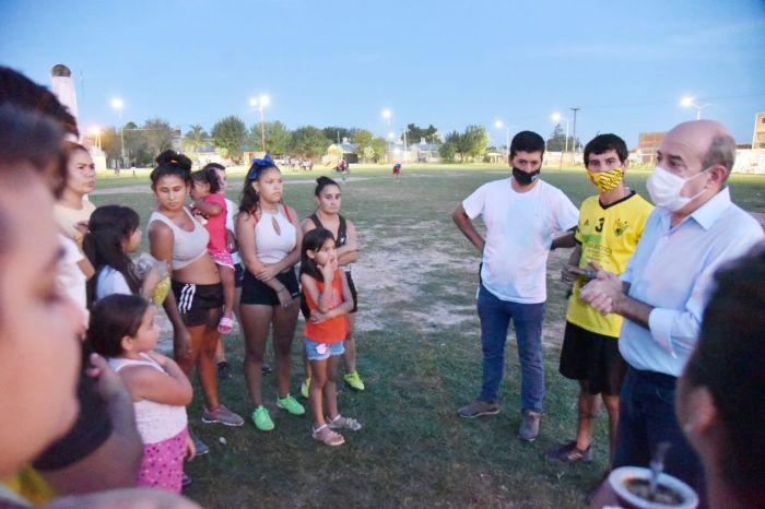 Canteros destacó al deporte como herramienta inclusiva en los barrios