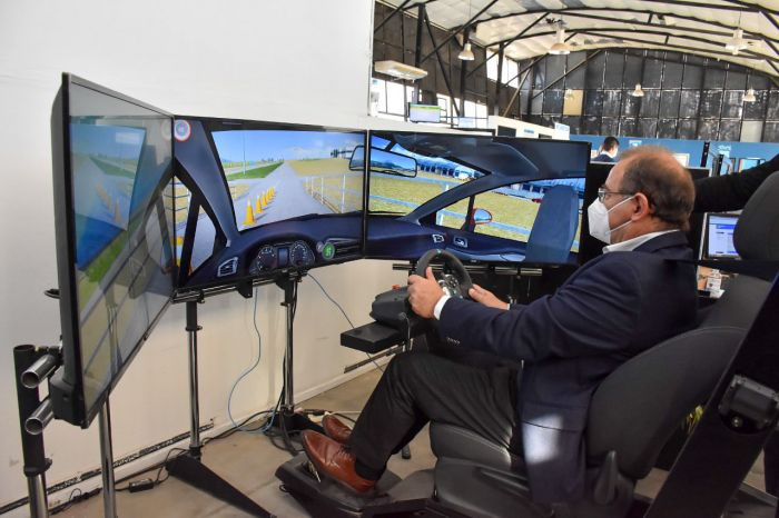 Tassano inaugura simulador de manejo