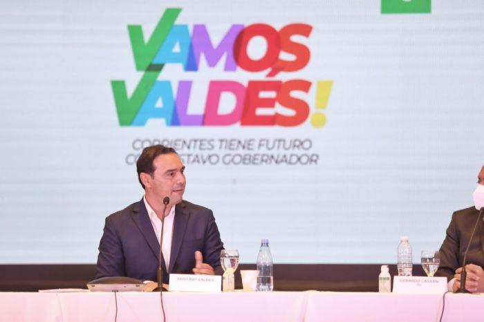Gustavo Valdés aceptó volver a ser candidato a gobernador
