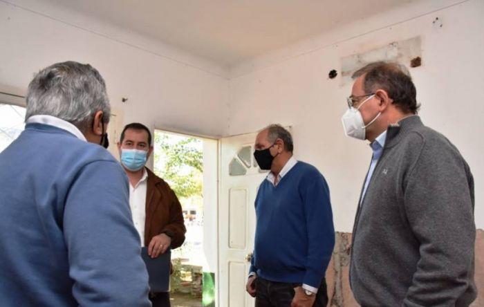 Tassano y Lanari visitaron la SAPS del barrio Ferré