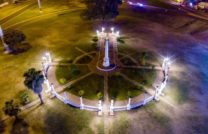 Nuevas luminarias led en el Paseo Arazaty